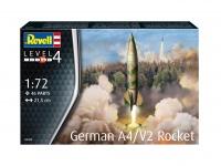 German A4 / V2 Rocket - 1/72