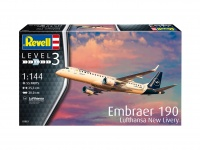Embraer 190 Lufthansa - New Livery - 1:144