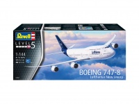 Boeing 747-8 Lufthansa - New Livery - 1/144