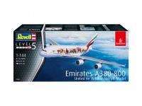 Airbus A380-800 - Emirates - Wild Life - 1/144