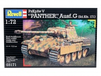 Pz. Kpfw. V - Panther Ausf. G - 1/72