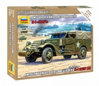 M3 Scout Car - US Armored Personnel Carrier - 1:100