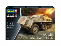 sWS with 15cm Panzerwerfer 42 - 1/72
