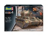Flakpanzer IV Wirbelwind - 1/72