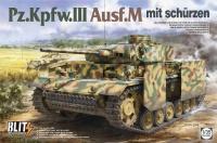 Panzerkampfwagen III Ausf. M - mit Schürzen - 1:35