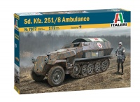 Sd.Kfz. 251/8 - Ambulance - 1/72