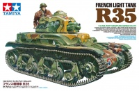 Renault R-35 - French Light Infantry Tank - 1/35