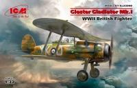 Gloster Gladiator Mk. I - WWII British Fighter - 1:32