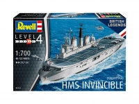 HMS Invincible - Falkland War - 1:700