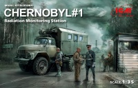 Chernobyl #1 - Radiation Monitoring Station - 1:35