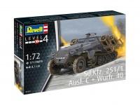Sd.Kfz. 251/1 Ausf. C + Wurfrahmen 40 - 1/72