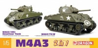 M4A3 Sherman - 2in1 - 1/6