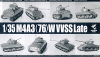 M4A3(76)W Sherman VVSS - Late Production - 1/35