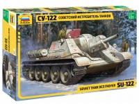 SU-122 - Sowjetischer Jagdpanzer - 1:35