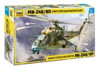 Mi-24V / VP - Hind - Soviet Attack Helicopter - 1/48