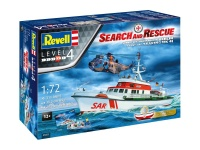 Search and Rescue - Seenotrettungskreuzer Berlin + Westland Seaking Mk. 41 - 1/72