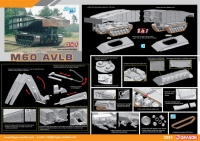 M60 AVLB - Armored Vehicle Launched Bridge -2in1 - 1/35