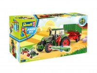 Tractor & Trailer with Figure - Junior Kit