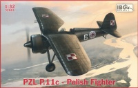 PZL P.11c - Polnisches Jagdflugzeug - 1:32