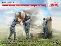Britisches Bodenpersonal - 1939 - 1945 - 1:32