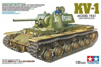 KV-1 - Russian Heavy Tank - Model 1941 - Early Production - 1/35