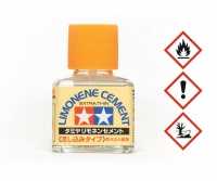 Tamiya Plastikkleber Limone - EXTRA dünflüssig mit Pinsel - 40ml