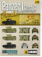 Panzer I Ausf. A - Decals - Markings for 10 Versions - 1/16