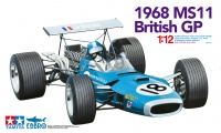 Matra MS11 - 1968 British GP - 1/12