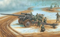 German schwere 10cm Feldkanone 18 - 1/35
