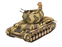 Flakpanzer IV - Wirbelwind - 2cm Flak 38 - 1/35