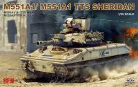 M551 A1 / M551 A1 TTS - Sheridan - 1:35