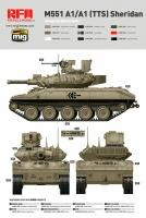 M551 A1 / M551 A1 TTS - Sheridan - 1/35