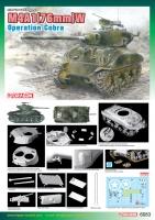 M4A1(76mm)W - Sherman - Operation Cobra - 1/35