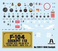 F-104G Starfighter Cockpit - 1/12