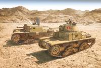 Italian Tanks - Semoventi M13/40 - M14/41 - M40 - M41 - 4in1 - 1/56