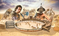 Gladiators Fight - Diorama-Set - 1/72