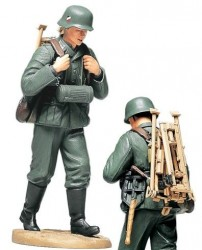 German MG Ammo-Belt Loader - WWII (Carrying Tripod) 1:16