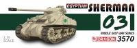 Egyptian Sherman - Six Day War - 1:35