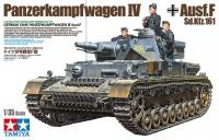 Panzerkampfwagen IV Ausf. F - Sd.Kfz. 161 - 1/35
