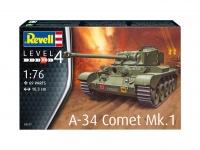 A-34 Comet Mk. 1 - 1/76