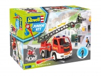 Fire brigade ladder wagon with figure - Junior Kit