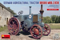 D8500 - Model 1938 - German Agricultural Tractor - 1/35
