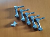 Suspension Arm Left (MJ2 x5) Idler Arm Left (MJ 1 x1) for Tamiya KV-1 / KV-2 (56028 / 56030) - 1/16