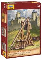 Trebuchet / Tribock - Mittelalterliche Belagerungsmaschine - 1:72