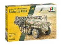 Sd.Kfz. 251/1 mit Wurfrahmen - STUKA ZU FUSS - 1:72