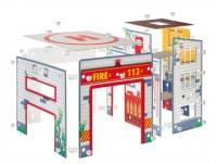 Spielset Feuerwache - Junior Kit
