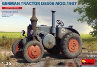 D8506 - Model 1937 - German Agricultural Tractor - 1/35