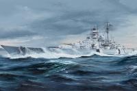 Bismarck - German Battleship - 1/350