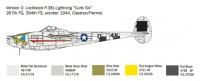 Lockheed P-38J Lightning - 1/72