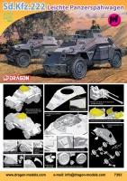 Sd.Kfz. 222 - Leichter Panzerspähwagen 1+1 - 1/72